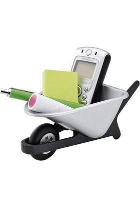 Pf Concept 12330700 Tekerlekli El Arabası Şeklinde Telefon Tutucu