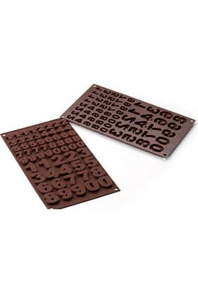 Silikomart 123 Çikolata Kalıbı