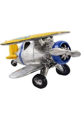 THK Design Uçak Rezin Kumbara