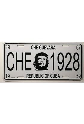 Sibiro Dekoratif Plaka Che Guevara Republic Of Cuba
