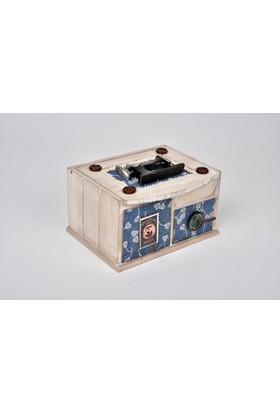 Setabianca Müzik Kutusu Dikiş Makinalı 17 x 9 Cm
