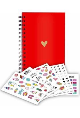 Juno Smart Planner - Planlayıcı - Tarihsiz Ajanda / Love