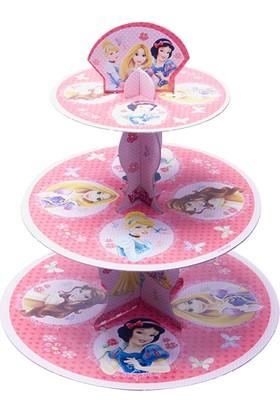 Parti Bulutu Prensesler Lisanslı Cupcake Standı