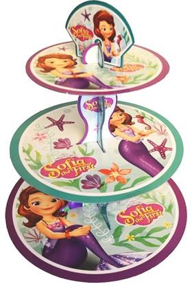 Parti Bulutu Sofia Lisanslı Cupcake Standı
