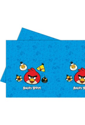 Parti Bulutu Angry Birds Masa Örtüsü