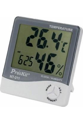 Proskit Nt-311 Sıcaklık & Nem Ölçer