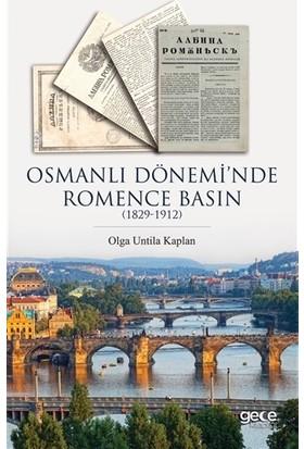 Osmanlı Dönemi'nde Romence Basın