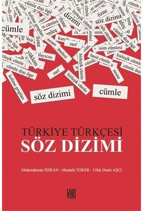 Türkiye Türkçesi / Söz Dizimi