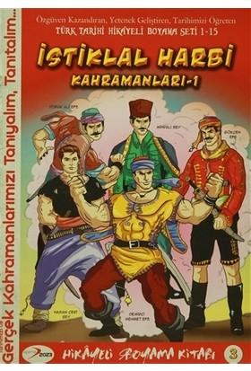 İstiklal Harbi Kahramanları 1 Hikayeli Boyama Kitabı 3