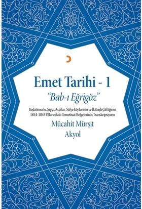 Emet Tarihi - 1
