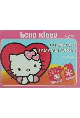 Hello Kitty Bulmacayı Tamamlıyorum 32 Parça Yapboz
