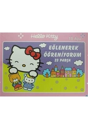 Hello Kitty Eğlenerek Öğreniyorum Yap Boz (23 Parça)