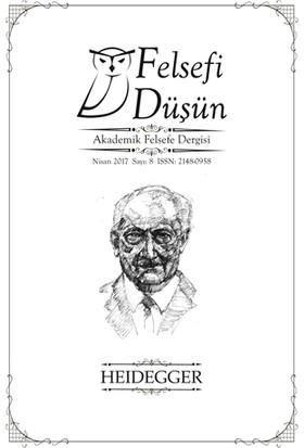 Felsefi Düşün Akademik Felsefe Dergisi Sayı: 8 Nisan 2017