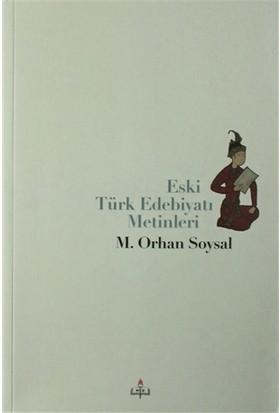 Eski Türk Edebiyatı Metinleri