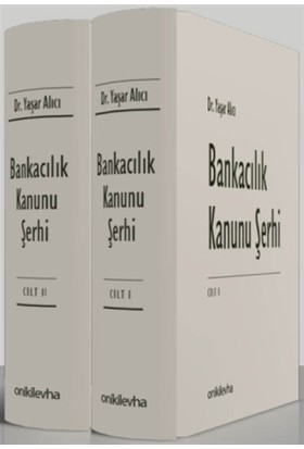 Bankacılık Kanunu Şerhi Seti (2 Cilt Takım)