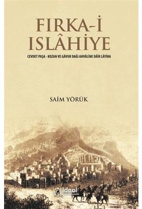 İdeal Kültür Yayıncılık Fırka-i Islahiye