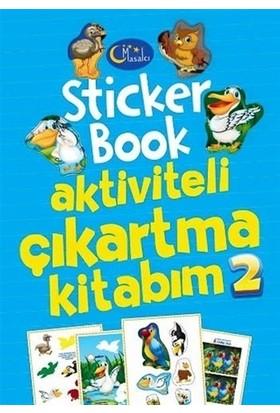 Sticker Book Aktiviteli Çıkartma Kitabım 2