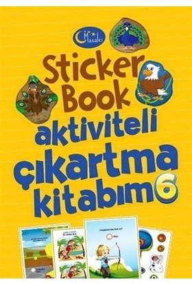 Sticker Book Aktiviteli Çıkartma Kitabım 6