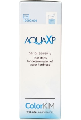 Colorkim Yerli, AQUAXP – Kolay ölçüm için Toplam Su Sertliği Test Çubukları, Sertlik Test Çubukları