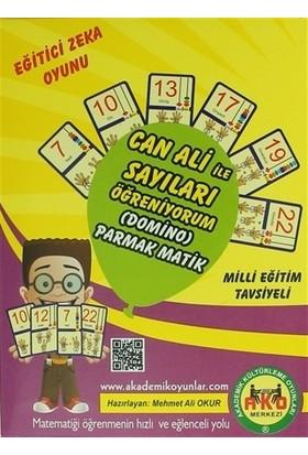 Eğitici Zeka Oyunu Can Ali ile Sayıları Öğreniyorum (Domino) Parmak Matik