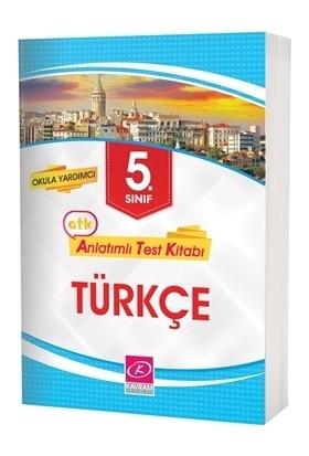 5. Sınıf Türkçe Anlatımlı Test Kitabı