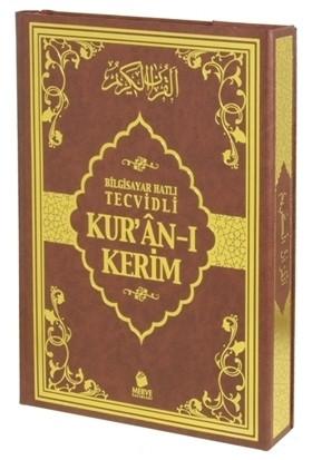 Bilgisayar Hatlı Tecvidli Kur'an-ı Kerim (Rahle Boy)