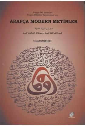Arapça Modern Metinler