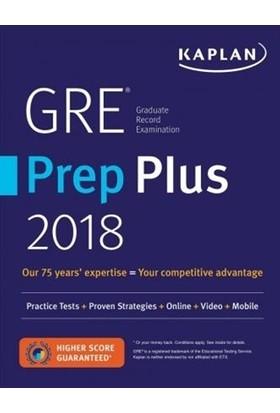 Kaplan GRE Prep Plus 2018