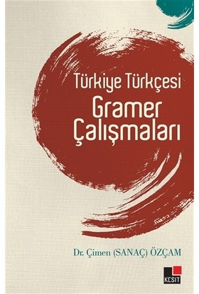 Türkiye Türkçesi Gramer Çalışmaları