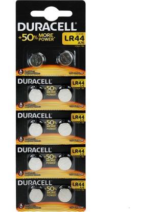 Duracell LR44/AG13/A76 Pil 10'Lu