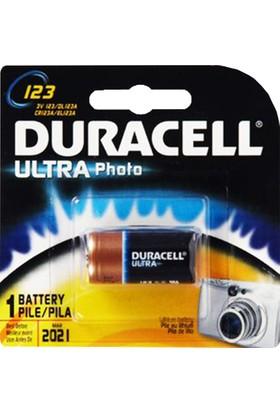Duracell Ultra Lityum CR123A 1'Li