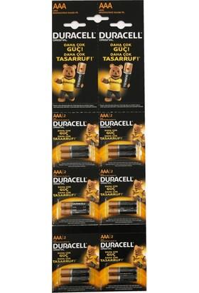 Duracell AAA Kartela Pil 12'Li