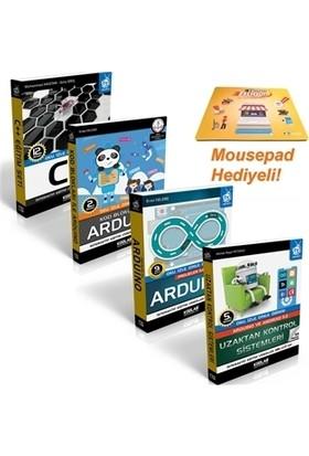 Projeler İle Arduino Eğitim Seti (4 Kitap Takım)
