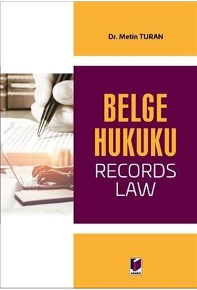 Belge Hukuku