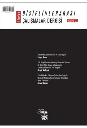 Divan : Disiplinlerarası Çalışmalar Dergisi 2017/2 Sayı: 43 Cilt: 22