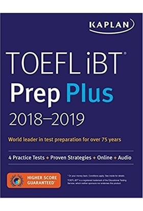 Kaplan TOEFL IBT Prep Plus 2018