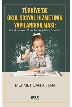 Türkiye'de Okul Sosyal Hizmetinin Yapılandırılması