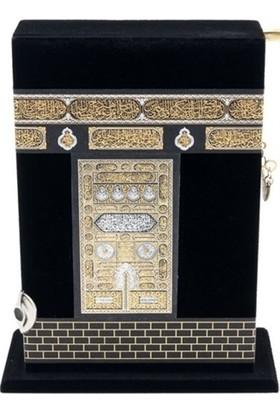 Kabe Kutulu Kur'an'ı Kerim (Çanta Boy)