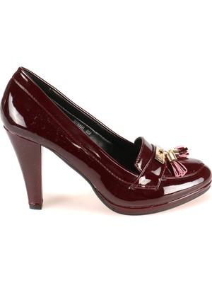 Polaris 52.307695Rz Bordo Kadın Ayakkabı