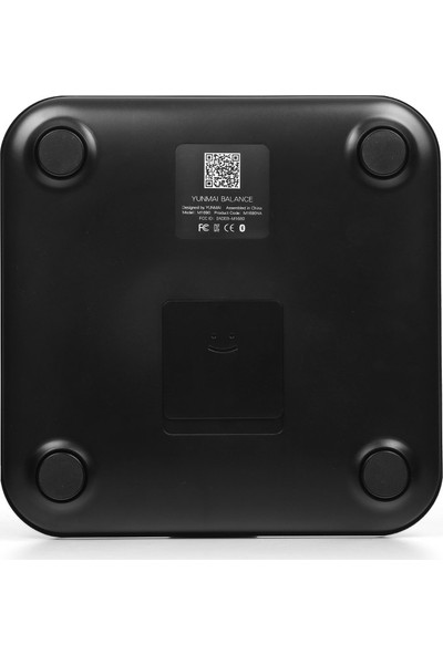 Yunmai Balance M1690 Vücut Analizli Siyah Bluetooth Akıllı Tartı (YUM1690B)