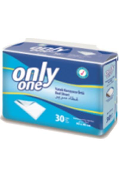 Only One 60x90 Cm Yatak Koruyucu Örtü 30'lu