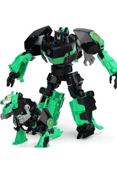 Kdd Transformers Tarzında Optimus Prime Bumblebee Grimlock Dönüşen Robot Araba