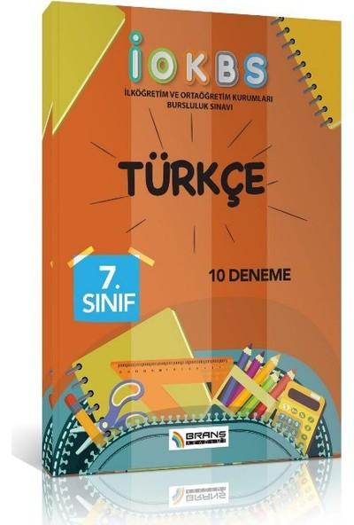 Branş Akademi İokbs 7. Sınıf Türkçe 10 Deneme