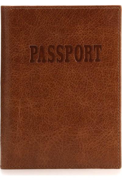 Otto Ot177 Hakiki Deri Pasaport Kılıfı Cüzdanı Rfıd Korumalı Valiz Kimlik Etiketli