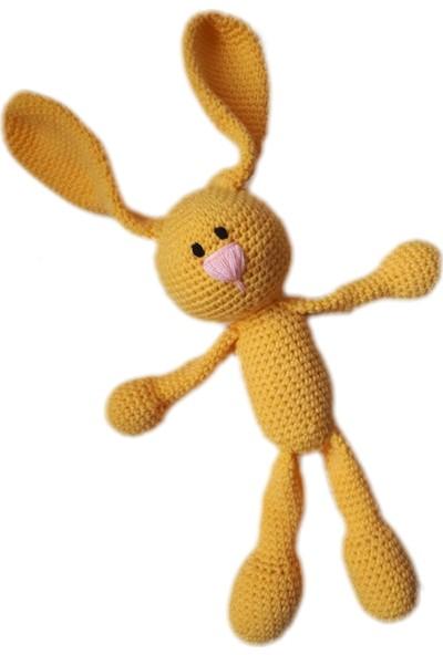 Damla Oyuncak Amigurumi Elişi Örgü Tavşan