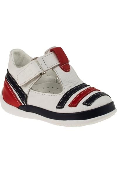 Vicco 918.18y.027 Tek Cirt Deri Beyaz Çocuk Ayakkabı
