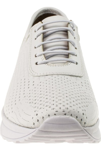 Estile 101-199 Bağli Günlük Beyaz Kadın Ayakkabı