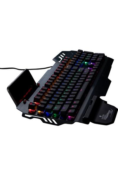 Hunter T-600 Mekanik Full RGB Su Geçirmez Klavye