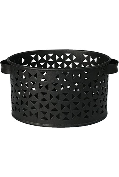 Evstyle Siyah Dekoratif Sepet Mini