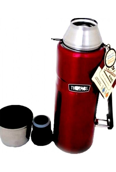 Thermos Sk 2010 Stainless King Large Cranberry 1.2 Lt. Termos 140936